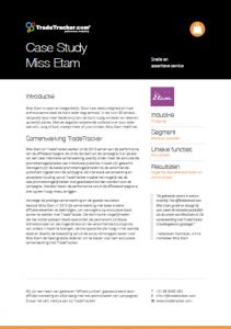 Miss Etam Case study